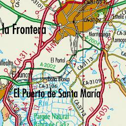 Instituto de Estadstica y Cartografa de Andaluca Mapa oficial