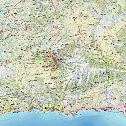 Visor cartogrfico de Andaluca  Mapa de bolsillo